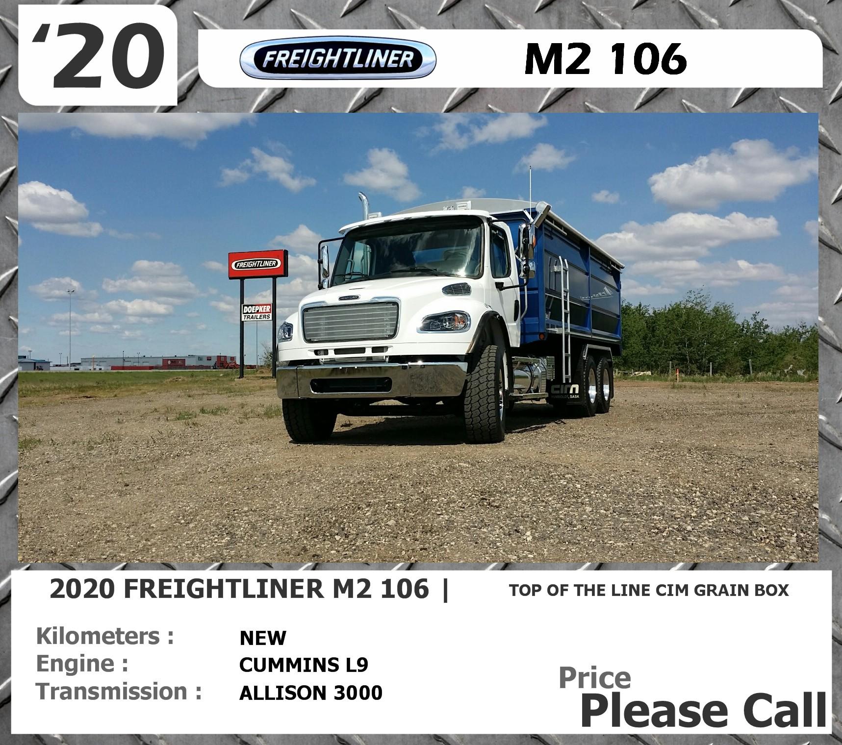 2020 Freightliner **SOLD**